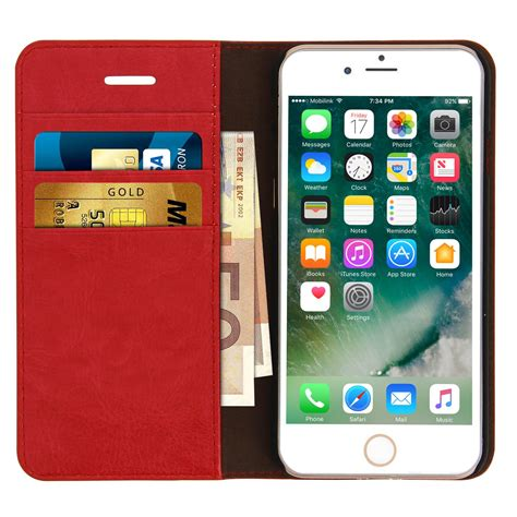 p iphone 7 housse 201 tui portefeuille cuir veritable p iphone 7 plus iphone 8 plus 201 tuis