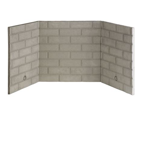 Fireplace Liners bl42 refractory brick liner kit direct vent gas fireplaces