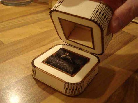diy engagement ring box wedding and bridal inspiration