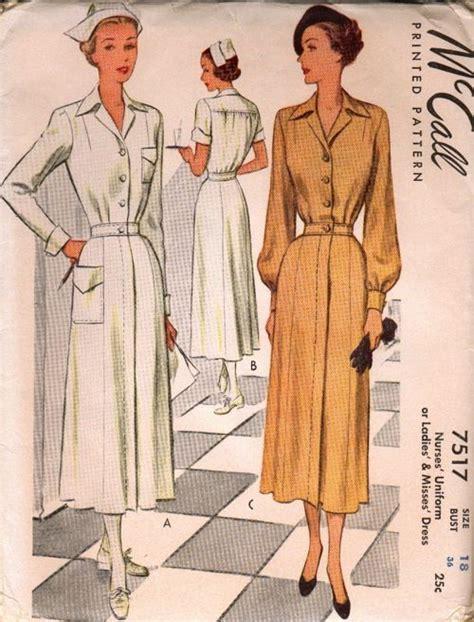 vintage nurse pattern 100 best nurse uniform patterns images on pinterest