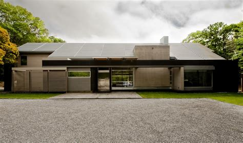 Garage House Floor Plans mojo stumer s east hampton home is a contemporary take on
