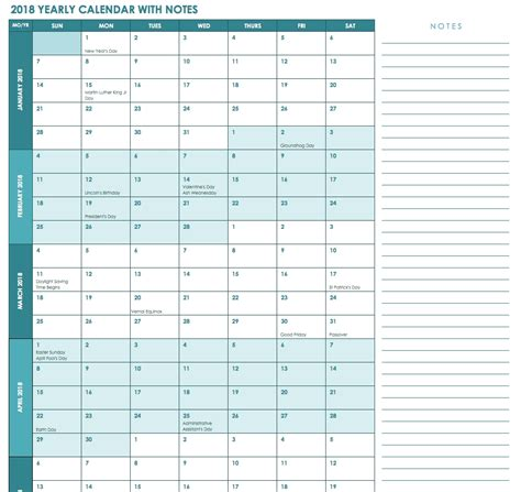 yearly financial planner template printable blank 2018 employee time calendar sheet 11