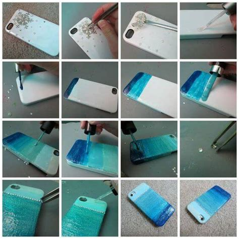 mobile cover design homemade diy easy mobile phone case decoration ideas step by step