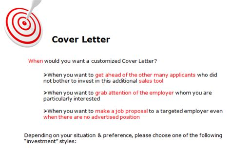 letter of application vs cover letter expertise in cover letter coaching professional writing