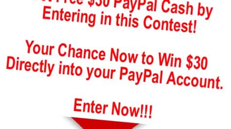 Enter To Win Free Money - free paypal cash giveaway enter to win now youtube