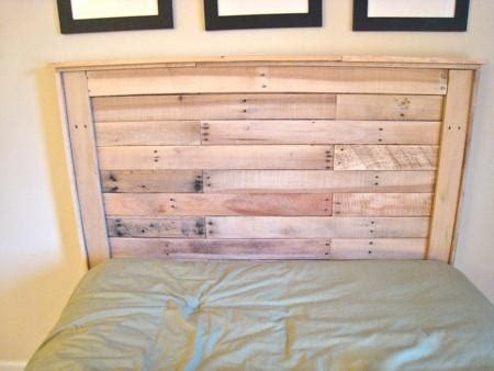 how to build a wood pallet headboard the thinking closet reclaimed wood headboard from pallets for the home
