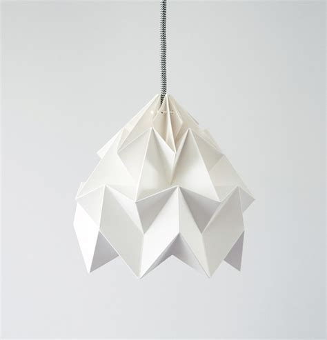 Origami White Paper - moth paper origami l paper origami lshades by
