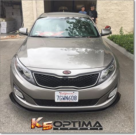 How Much Does A Kia Optima Cost 2015 Optima Ex Front Lip