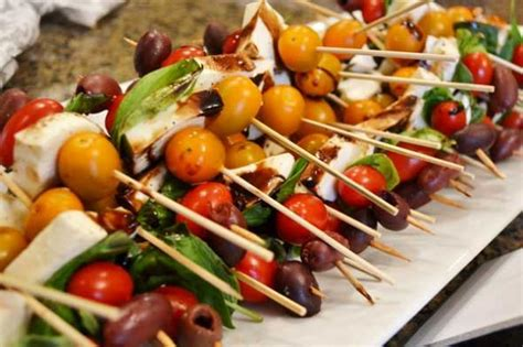 best appetizers for dinner simple caprese bites appetizer recipe
