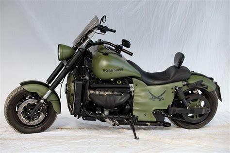 Boss Hoss Motorrad Kaufen In Usa by Boss Hoss Motorcycle Quot Military Quot Custom Motorcycle Bike