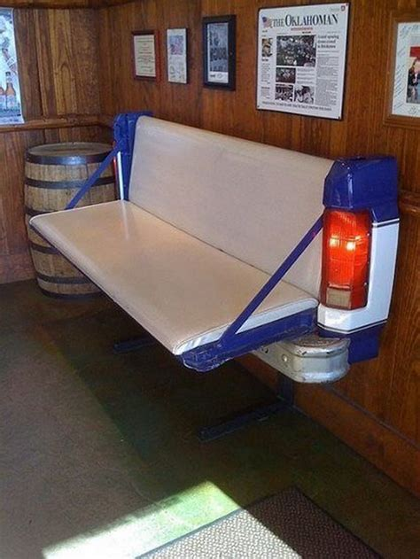 tailgate bench on wall how to make a tailgate wall bench your projects obn