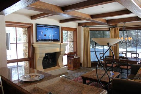 Big Screen Tv Fireplace by Big Screen Tv Fireplace Fireplaces