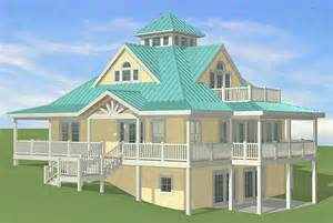 Hillside Walkout Basement House Plans by Southern Cottages House Plans January 2011