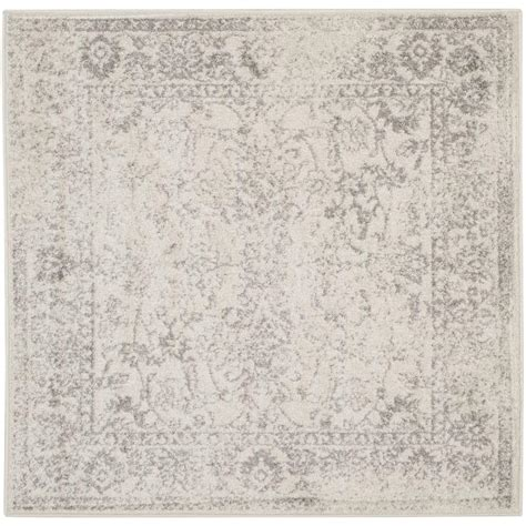 4 foot square rug safavieh adirondack ivory silver 4 ft x 4 ft square area rug adr109c 4sq the home depot