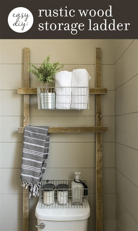 diy projects for bathrooms 3 easy practically free diy rustic wood projects for
