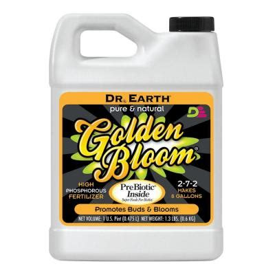 dr earth 16 oz golden bloom liquid fertilizer 9005 the