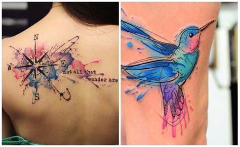 imagenes tatuajes acuarela tatuajes de acuarela duraci 243 n dise 241 os y controversia de