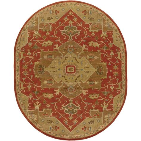 6 x 9 oval area rugs artistic weavers demetrios cherry 6 ft x 9 ft oval indoor area rug s00151007580 the home depot