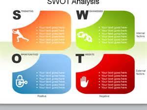 10套swot出品漂亮的ppt图表分析模板 ppt图表 51ppt模板网