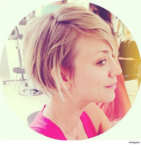 kaley cuoco why did she cut hair kaley cuoco gets new quot peter pan quot haircut see the pic