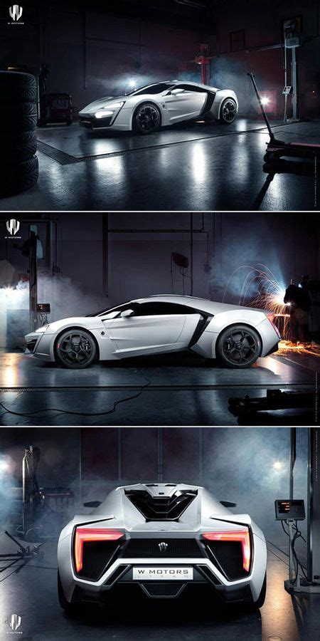 Most Expensive Production Car by 3 4 Million W Motors Lykan Hypersport Is World S Most