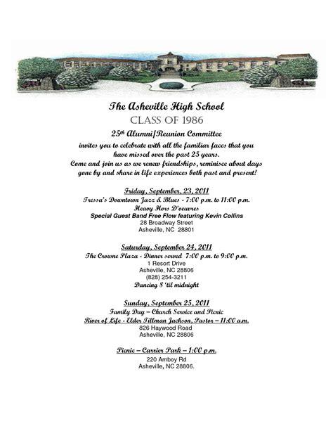 Invitation Letter Format For Reunion alumni reunion invitation letter invitation librarry