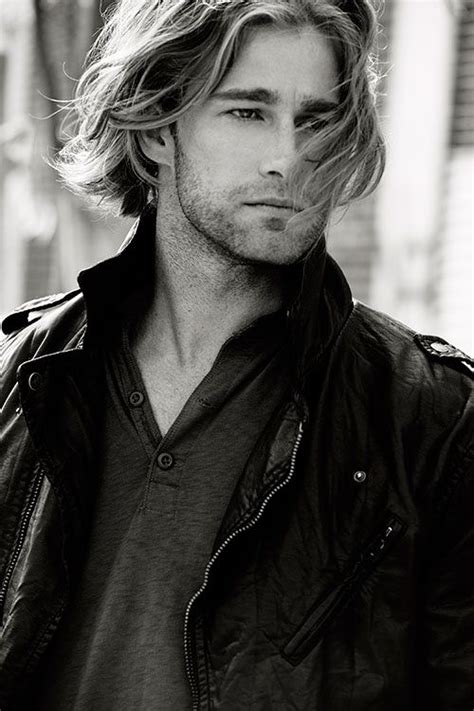 top long haired male models 294 best images about men s hair on pinterest hairstyles