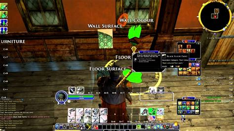 lotro buying a house lotro how to buy a house and furnish it free account youtube