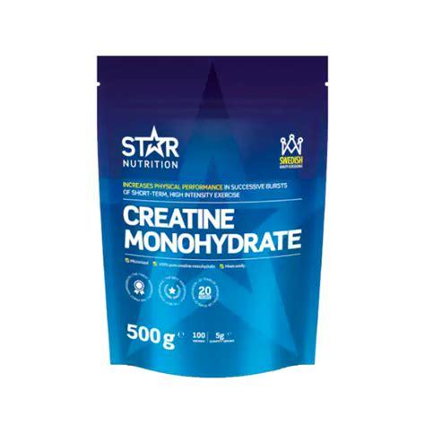 6 g creatine kj 248 p creatine monohydrate 500 g hos gymgrossisten
