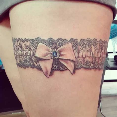 garter tattoo best 25 garter tattoos ideas only on thigh