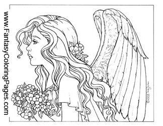 realistic angel coloring pages 13 images of detailed coloring pages angel realistic