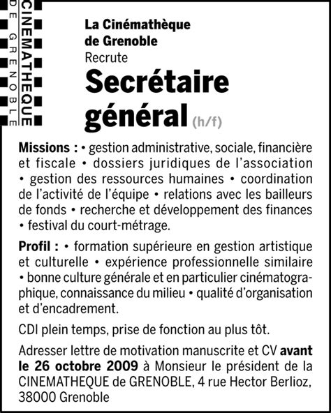 Lettre De Motivation De Secrétaire Administrative Pin Lettre Motivation Secretaire Administrative On