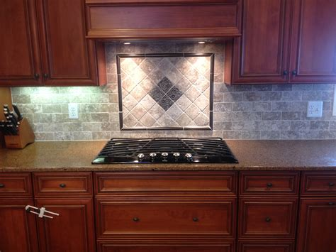 kitchen range backsplash ideas new tile backsplash with mosaic design behind cooktop