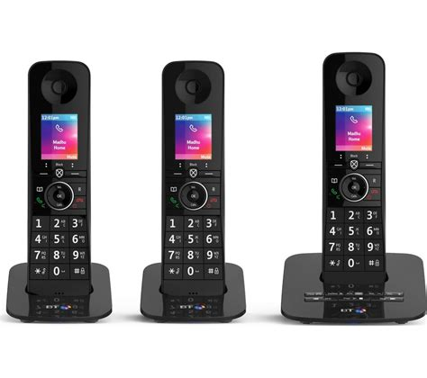 mobile phone handsets bt premium 090632 cordless phone handsets deals
