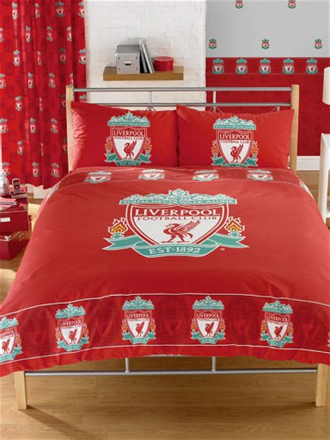 Liverpool Mattress by Liverpool Fc Duvet Cover And Pillowcase Border