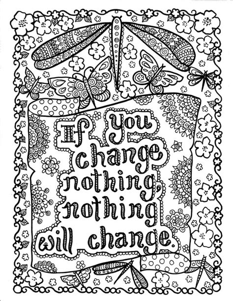 8x12 Inspirational Quotes Coloring Pages Quotesgram Inspirational Coloring Pages For Adults