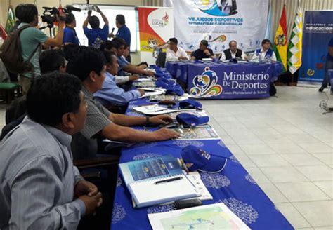 convocatoria juegos plurinacional del nivel secundaria evo el tr 243 pico de cochabamba ser 225 sede de los juegos