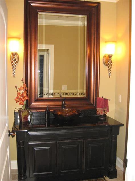powder room vessel sink bath with vessel sink traditional powder room