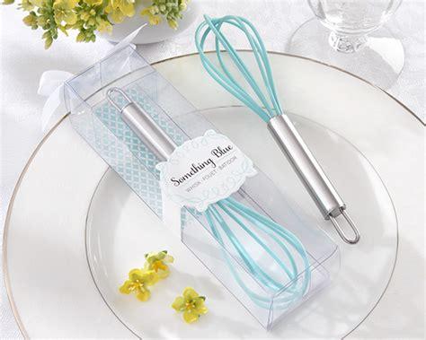 kitchen bridal shower favor ideas quot something blue quot kitchen whisk bridal shower favor my wedding favors