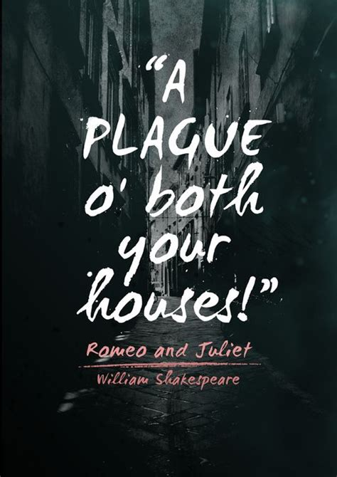 A Plague On Both Your Houses by Quot A Plague On Both Your Houses Quot I Believe That When