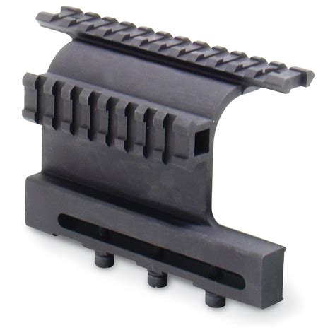 ak side mount picatinny rail tapco 174 ak side rail mount with picatinny 174 rails 124163
