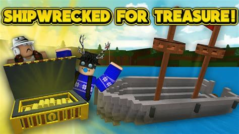how to make a boat roblox shipwrecked roblox build a boat for treasure youtube