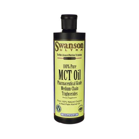 ultra pure l oil 100 oz 100 pure mct oil 16 fl oz 474 ml liquid by swanson