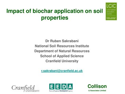 What Does Impact On A Application Ppt Impact Of Biochar Application On Soil Properties