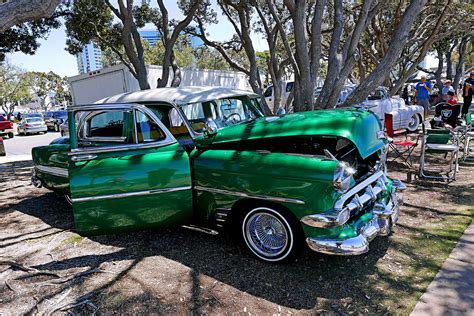 bays car from switched at switch car club 2016 day at the bay green chevy deluxe