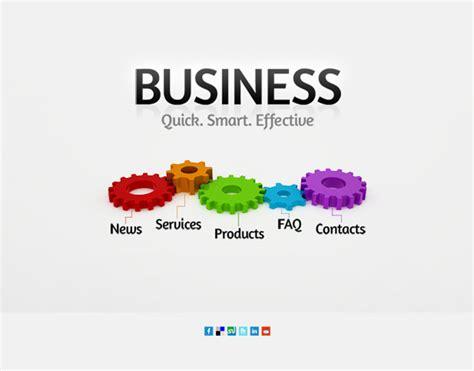 Single Page Web Design Single Page Business Website Template