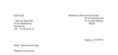 Exemple De Lettre Officielle Pour Demande De Stage Demande De Stage Mod 232 Le Gratuit De Lettre De Demande De Stage