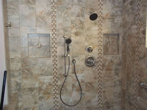 Small Tiled Bathrooms project showcase tile right