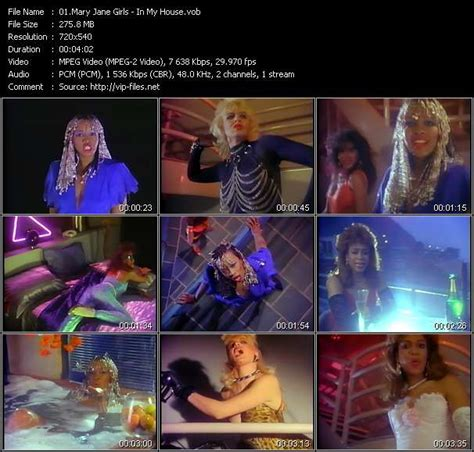 mary jane girls in my house hq music videos vobs willie hutch tina turner ashford
