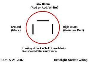 headlight socket wiring diagram get free image about wiring diagram